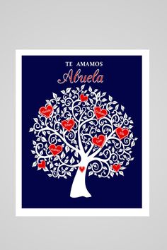 Hey, I found this really awesome Etsy listing at https://www.etsy.com/listing/265238430/mothers-day-gift-for-abuela-abuela