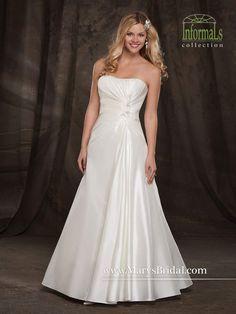 Taffeta A-Line Gown