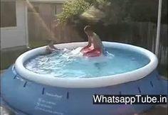 Enjoying Summer In Air Bathtub - http://funnyvideosdownload.net/enjoying-summer-in-air-bathtub.html