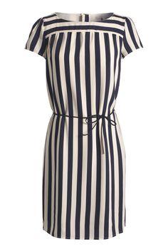 Silky Georgette Dress in Cinder Blue from Esprit