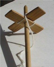 DIY Turkish drop spindle