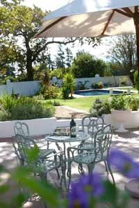 """The cottage, which is set in the garden, is a firm favourite with families and couples allowing guests to enjoy that """"home from home"""" feel Outdoor Furniture Sets, Outdoor Decor, South Africa, Cottage, Patio, Garden, Families, Sad, Couples"""