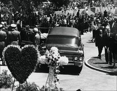 Marilyn Monroe's funeral was the first service held in Westwood Village Memorial Park Cemetery's Chapel of Palms. It was held on Wednesday, August 8, 1962 1:00pm.