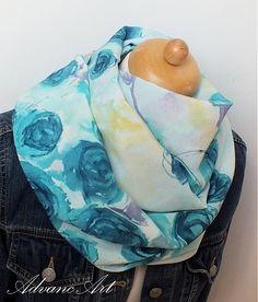 AdvancArt / Ruže v modrom