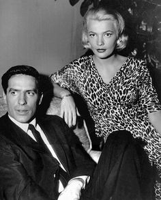 #Fifties | John Cassavetes and Gena Rowlands in Johnny Staccato, 1959