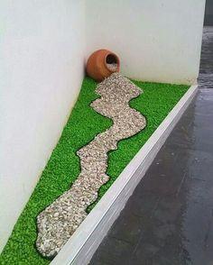Water-free Garden