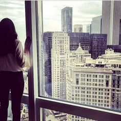 Make Chicago yours. Soak in the cityscape with our floor-to-ceiling windows.   Instagram photo by: @leanasalvi Trump International Hotel, Floor To Ceiling Windows, Michigan, Louvre, Chicago, Tower, Building, Instagram Posts, Travel