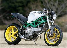 Ducati Monster CHR 944 by Steve Motorcycle Supply Concept Motorcycles, Cars Motorcycles, Monster Garage, Ducati Monster Custom, Cafe Racing, Hot Bikes, Love Car, Street Bikes, Motorcycle Accessories