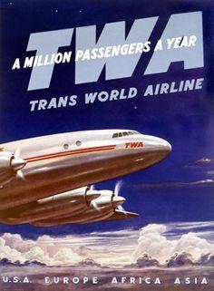 Vintage TWA.