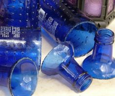 different ways to cut a glass bottle without having to buy a bunch of equipment....hallelujah
