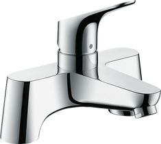 Focus Bath mixers: designed to run 1 outlet, chrome, Item No.