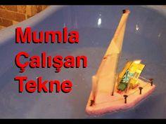 Pot Pot Boat Türkçe , Kendin Yap , Mumla Çalışan Oyuncak Tekne