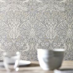 - Pure Dove & Rose, a Wallpaper by Morris & Co., part of the Pure Morris North Wallpapers collection Rabbit Wallpaper, Toile Wallpaper, Trellis Wallpaper, Print Wallpaper, Room Wallpaper, Kitchen Wallpaper, William Morris Wallpaper, Morris Wallpapers, William Morris Tapet