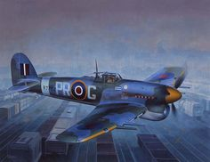 Hawker Typhoon - Illustrated by Shigeo Koike