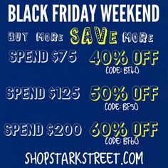 Black Friday weekend deal at Stark Street Clothing!  #blackfriday #clothing #fashion #menswear #streetwear #deals #style #shirts #mensfashion #discount #coupon #cybermonday #shopping #tshirts #prints