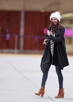 Nina Dobrev at Toronto's City Hall - February 20, 2016