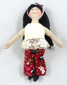 Asian Dress Up Doll for Kids by JoellesDolls on Etsy