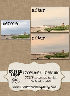 LOVE the coffee shop blog! Wonderful photoshop actions & tutorials.
