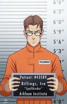 Ira Billings locked up by phil-cho on DeviantArt