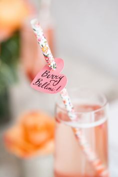 Berry Bellini <3 Bridesmaids Ask Brunch from Melissa Baum Events | melissabaum.com, Photography by Heidi Lau Photography | heidilau.ca, Read more - http://www.stylemepretty.com/living/2013/06/14/bridemaids-ask-brunch-from-melissa-baum-events/