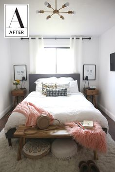 Before & After: A Cozy and Minimal Master Bedroom