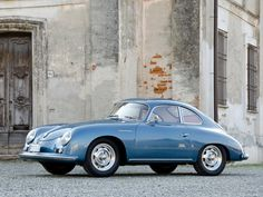 1955 Porsche 356A Carrera Coupe.