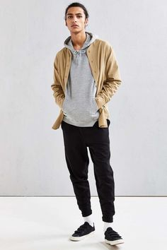 Publish Cavin Twill Baseball Button-Down Shirt - Urban Outfitters