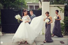 Brides Out Of their Wedding Dresses
