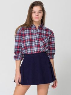 American Apparel cordoroy circle skirt