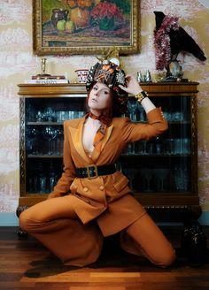 The wardrobe of Ms. B: Orange is the new black Orange Is The New Black, Jeffrey Campbell, Hermes, Ms, Prada, Dior, Studio, Style, Fashion