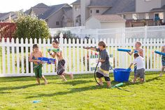 WATER WAR! {Party Designer: The Homespun Hostess; Photo by Maggie Russo}