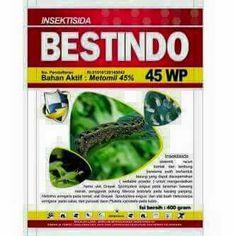 Insektisida  bahan aktif metomil 45 wp Sangat efektif mengendalikan hama ulat pada tanaman palawija dan padi.