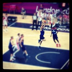 monchote's photo  of London 2012 Basketball Arena on Instagram