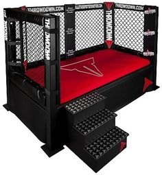 MMA bed for the boys?? I see my little cousin getting this in his near future.   lol