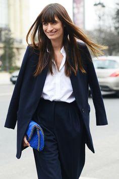 Caroline de Maigret arriving @ ACNE