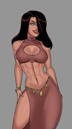 Comic Book Characters, Comic Books, Disney Characters, Fictional Characters, Dc Comics Girls, Talia Al Ghul, Dc Icons, Rule 34, Cool Cartoons