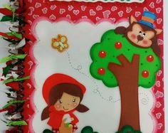 Caderno Chapeuzinho Vermelho