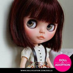 Custom Doll for Adoption by NDsDollys CHECK HERE https://etsy.me/2qgJ5fZ . . . #dollycustom #blythe #blythecustom #blythecustomizer #ooakblythe #customblythe #kawaii #doll #artdoll #dollstagram #blythestagram #blythelover #ブライス #blythedoll #customdoll #ooak #ooakdoll