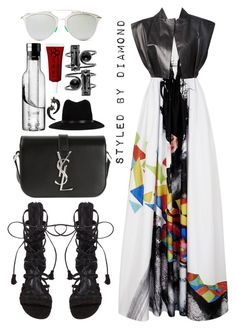"""""""Tantalizing"""" by diamxo ❤ liked on Polyvore featuring Alice + Olivia, Steffie Christiaens, Yves Saint Laurent, Schutz, rag & bone, Menu, Christian Dior, Obsessive Compulsive Cosmetics and Givenchy"""