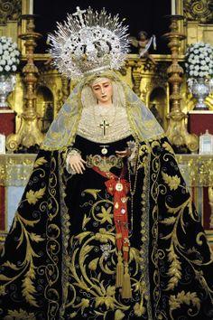 Virgen del Subterráneo. Hermandad de la Sagrada Cena