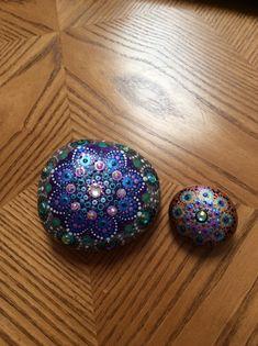 Pretty Mandala with crystals