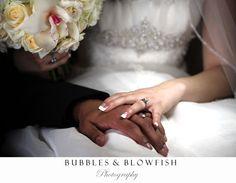 Fairytale wedding photo, romantic wedding, classy wedding, interracial wedding   www.bubblesandblowfishphotography.com