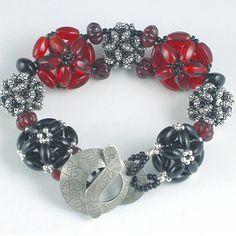 Tutorial Bead Jewelry PDF Pattern Beaded Bead by 1beadweaver