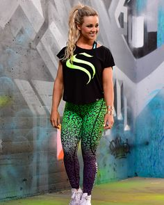 Fusion Compression Pant - Green Leopard www.strongliftwear.com