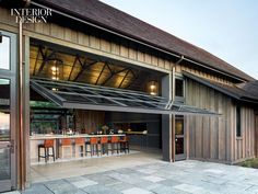 ODA Design Associates and Backen, Gillam & Kroeger Architects collaborated on Ram's Gate Winery in Sonoma, California.