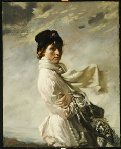 In Dublin Bay: Portrait of the Artist's Wife, 1909 (oil on canvas) Sir William Orpen