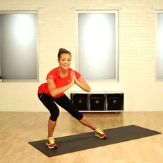 Marathon 101: Strength Training For Runners - awesome exercises and stretches  hip flexors.