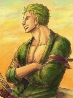 He's always so damn cool - Zoro