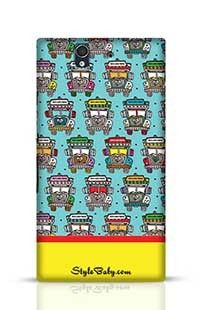 India Road Colorful Truck Sony Xperia Z Phone Case
