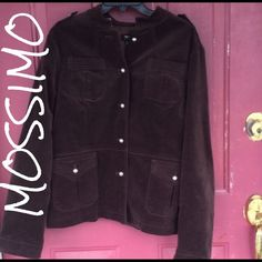 Mossimo brown XXL  jacket Mossimo brown XXL jacket. Cotton spandex outer shell && polyester lining. Open to offers! Mossimo Supply Co Jackets & Coats